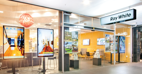 Case Study: Ray White Redefines Real Estate with Stunning Digital Window Displays